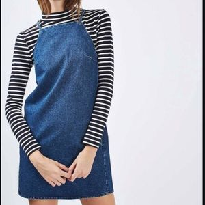 Topshop Denim Dress Size 2 NWT